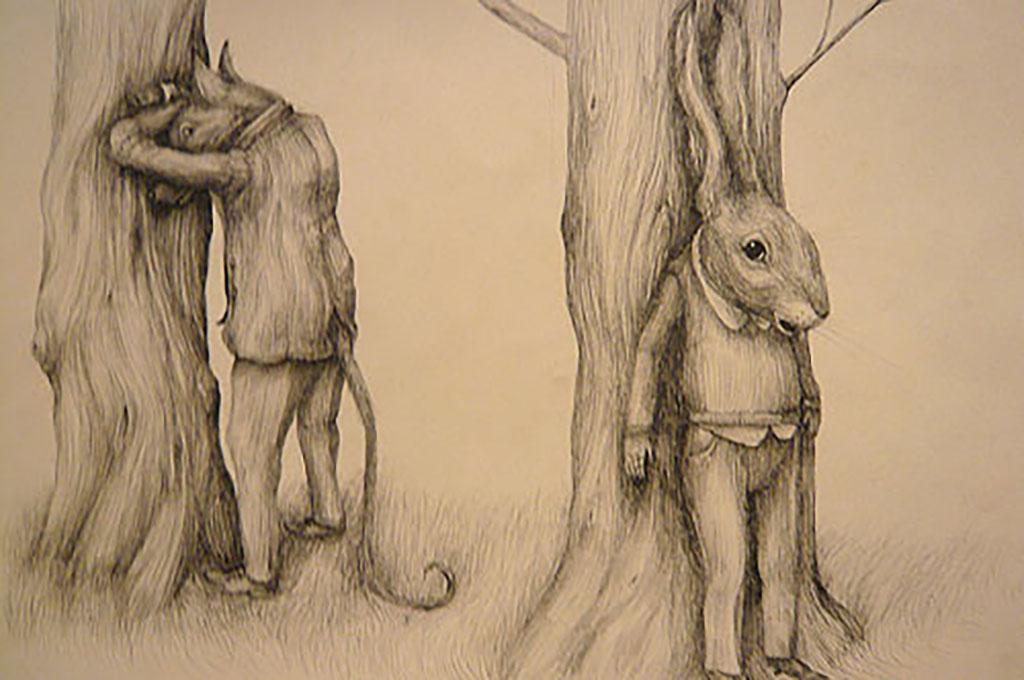 Tre assi, una lepre e Kadish la volpe.